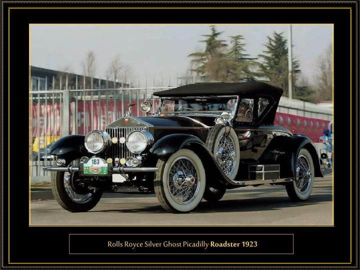 Rolls Royce Silver Ghost Picadilly