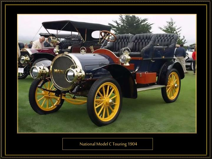 National Model C Touring 1904