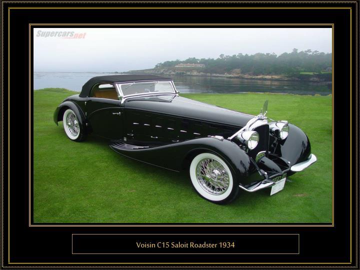 Voisin C15 Saloit Roadster 1934