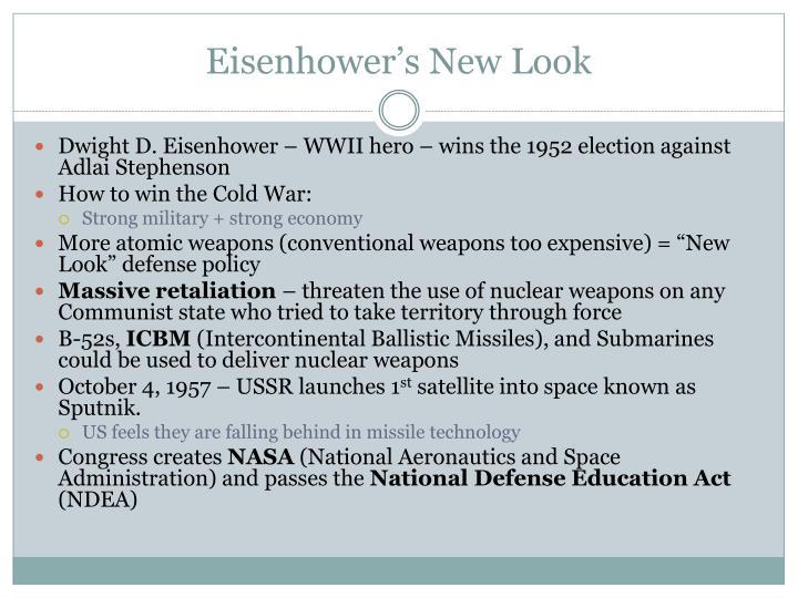 Eisenhower's New Look
