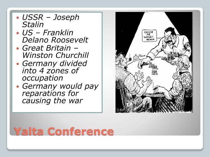 USSR – Joseph Stalin
