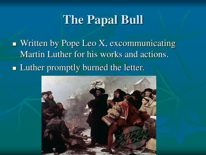 The Papal Bull