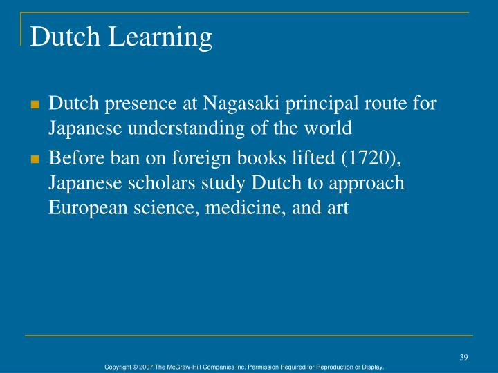 Dutch Learning