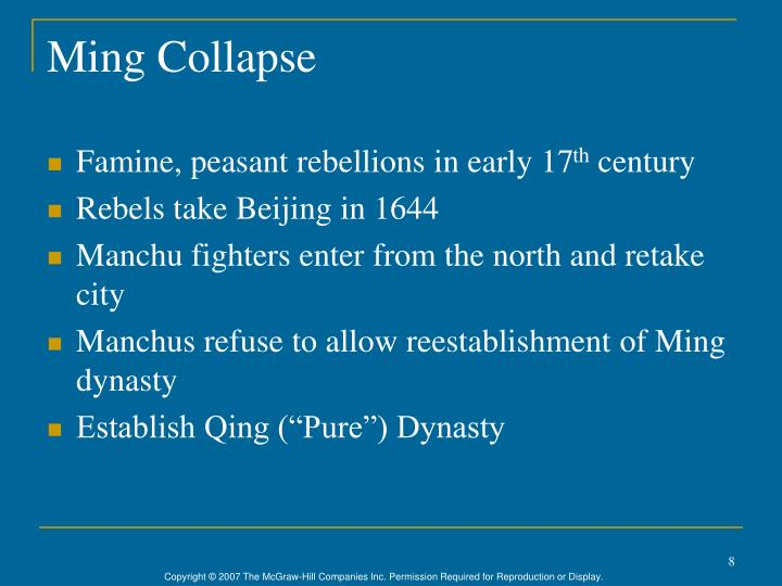 Ming Collapse