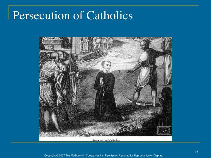 Persecution of Catholics