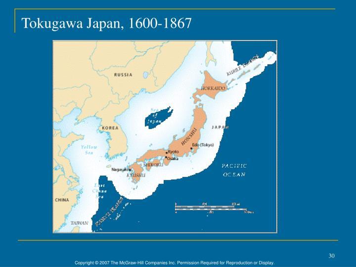Tokugawa Japan, 1600-1867