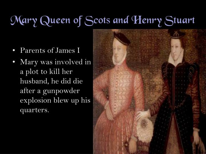 Mary queen of scots and henry stuart