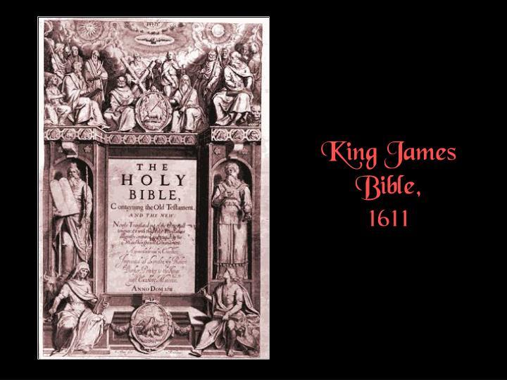 King James Bible,
