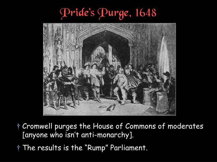 Pride's Purge, 1648