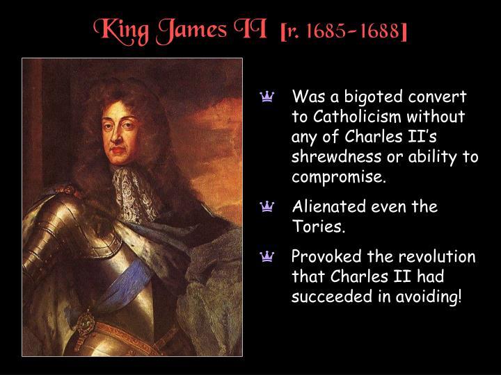 King James II  [