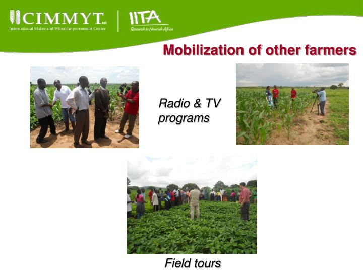Mobilization of other farmers