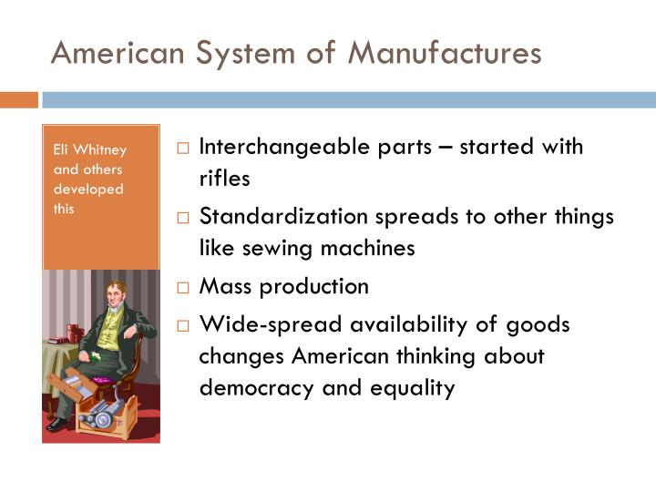 American System of Manufactures