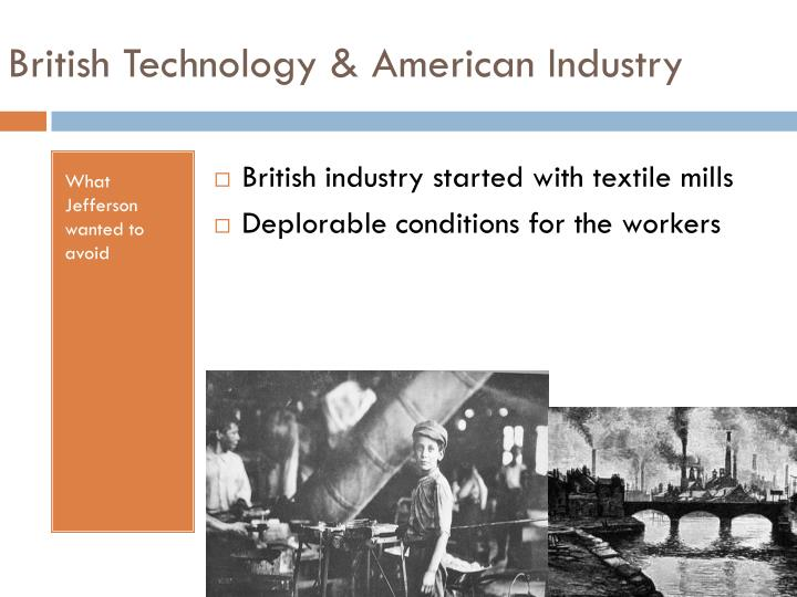 British Technology & American Industry