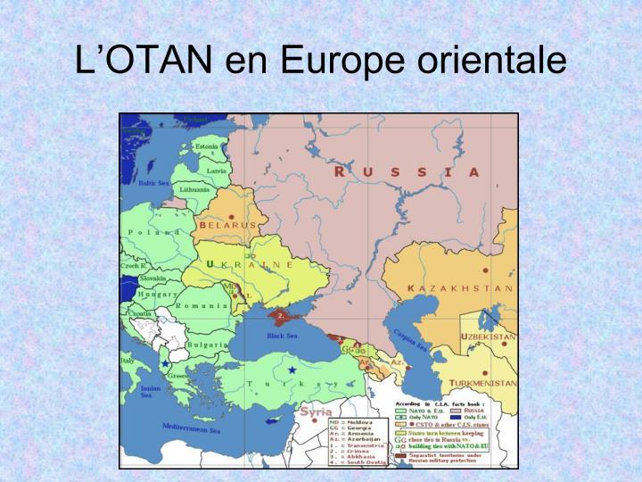 L'OTAN en Europe orientale