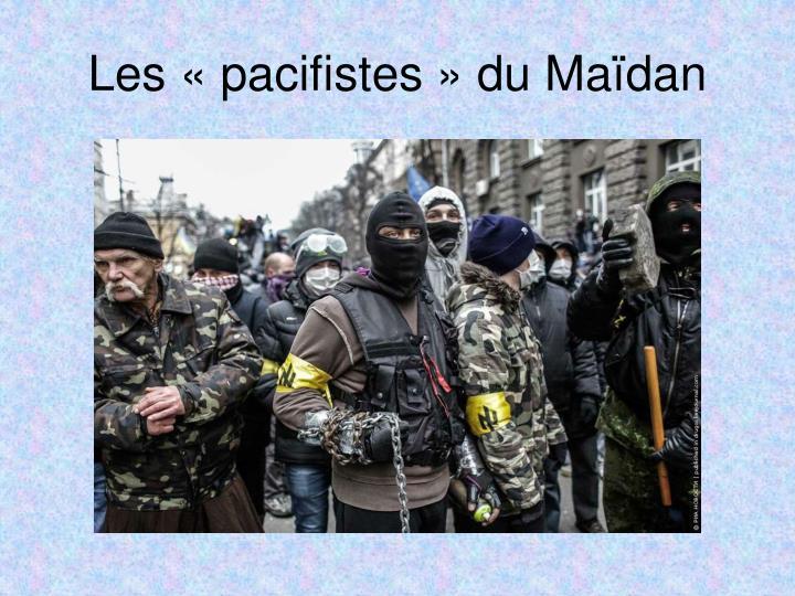 Les «pacifistes» du Maïdan