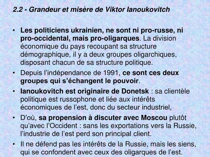 2.2 - Grandeur et misère de Viktor Ianoukovitch