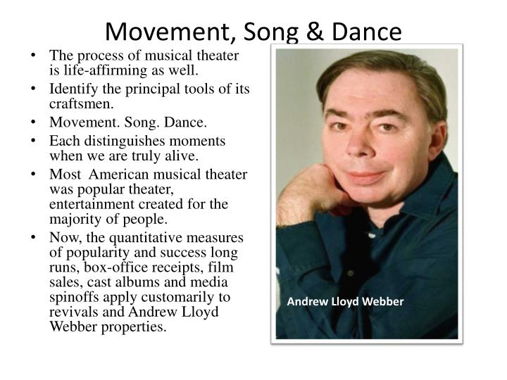 Movement, Song & Dance