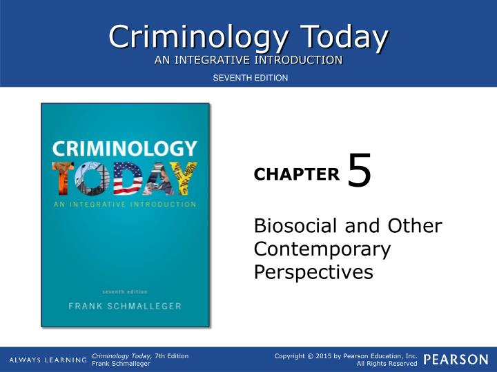 Introduction to criminology crj 270 instructor jorge pierrott