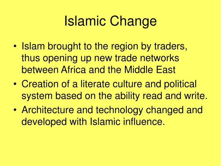 Islamic Change