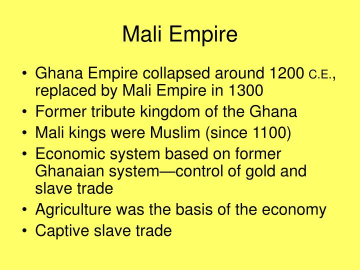 Mali Empire