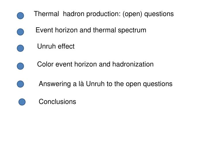 Thermal  hadron production: (open) questions