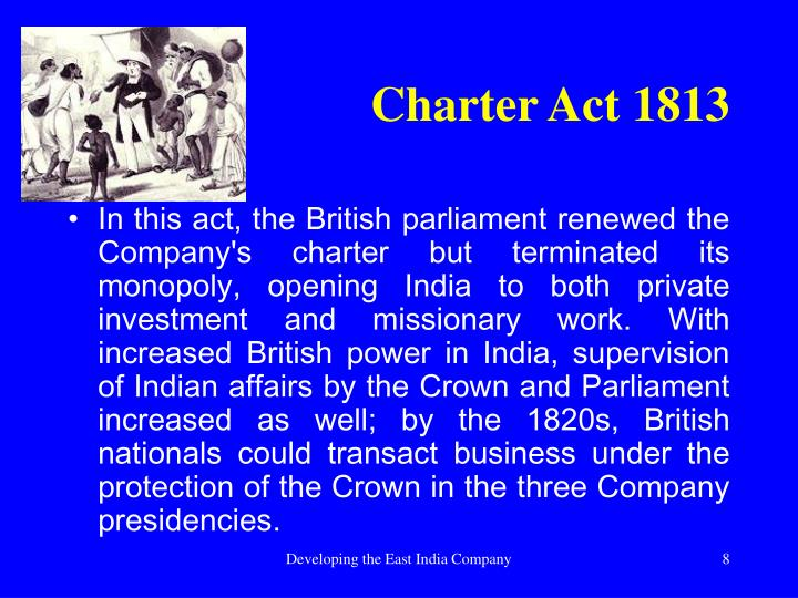 Charter Act 1813