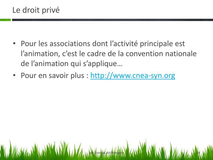 Le droit privé