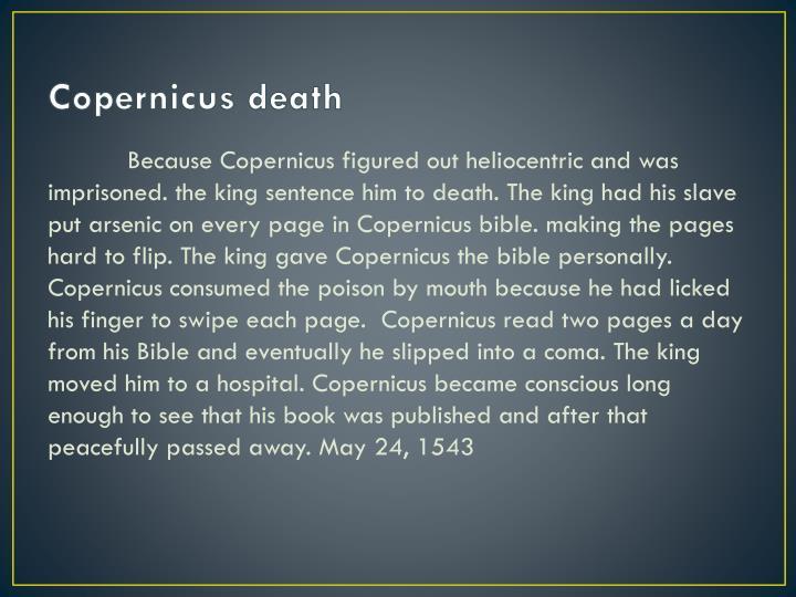 Copernicus death
