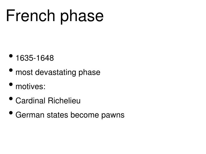 French phase