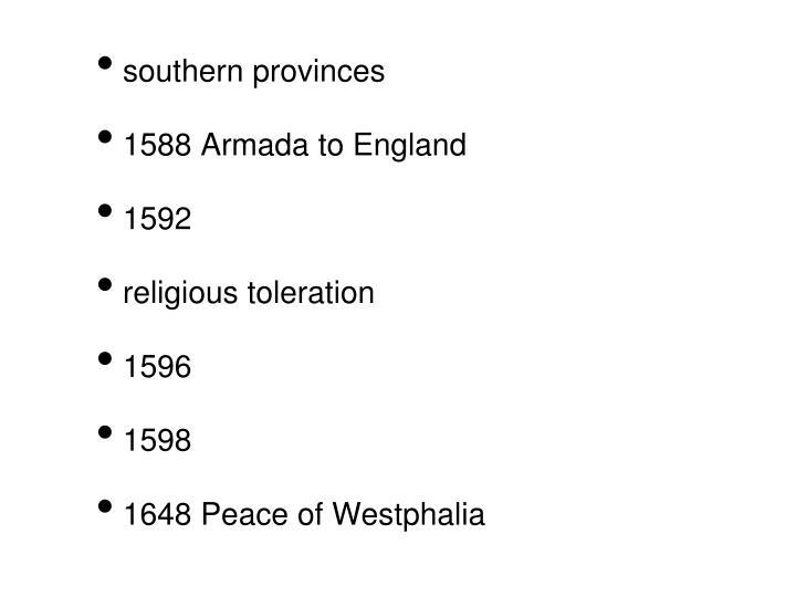 southern provinces