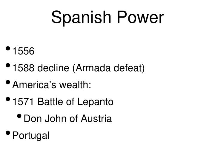 Spanish Power