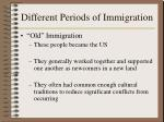 different periods of immigration2
