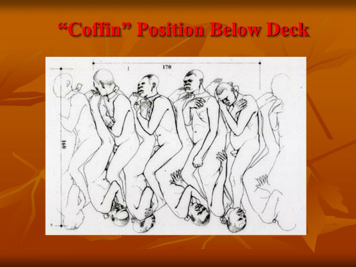 """Coffin"" Position Below Deck"