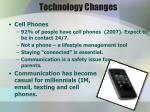 technology changes
