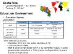 education environment