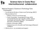 science fairs in costa rica interinstitucional collaboration