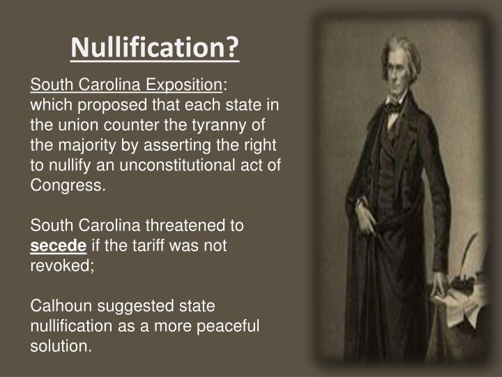 Nullification?