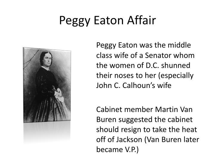 Peggy Eaton Affair