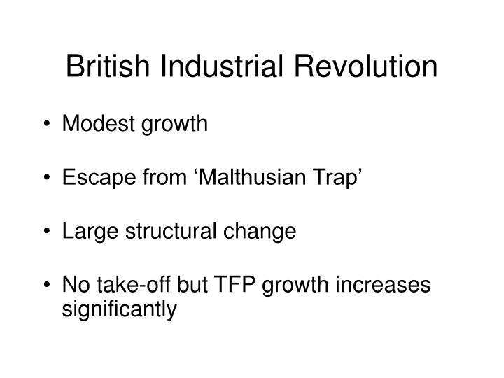 British industrial revolution