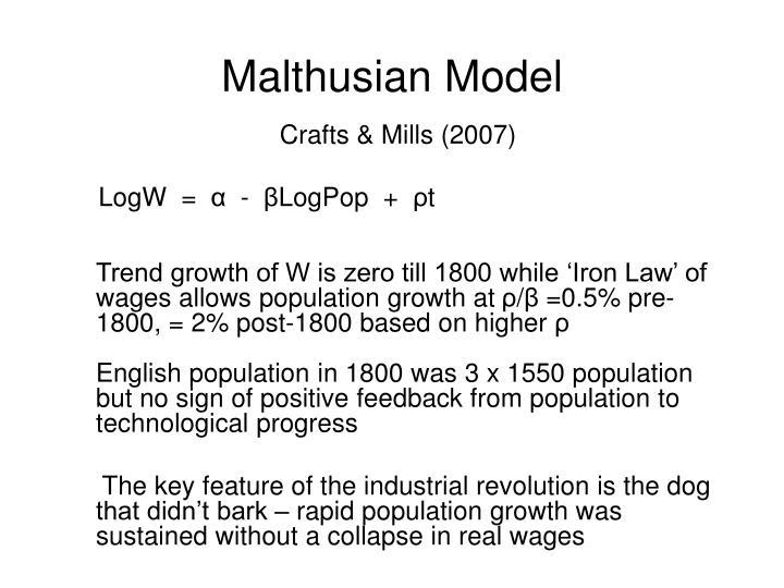 Malthusian Model