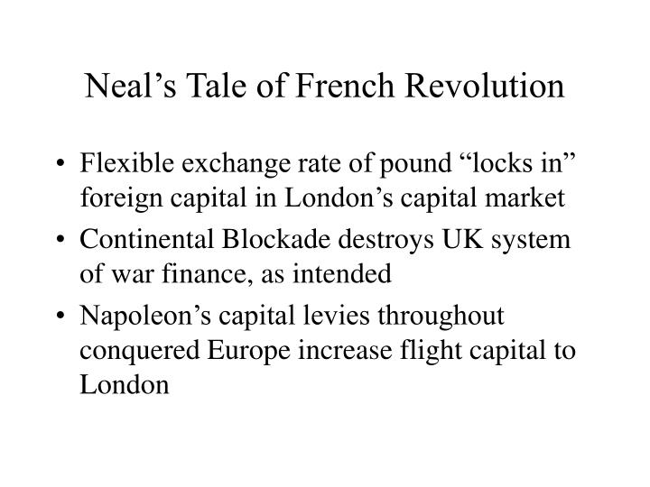 Neal's Tale of French Revolution