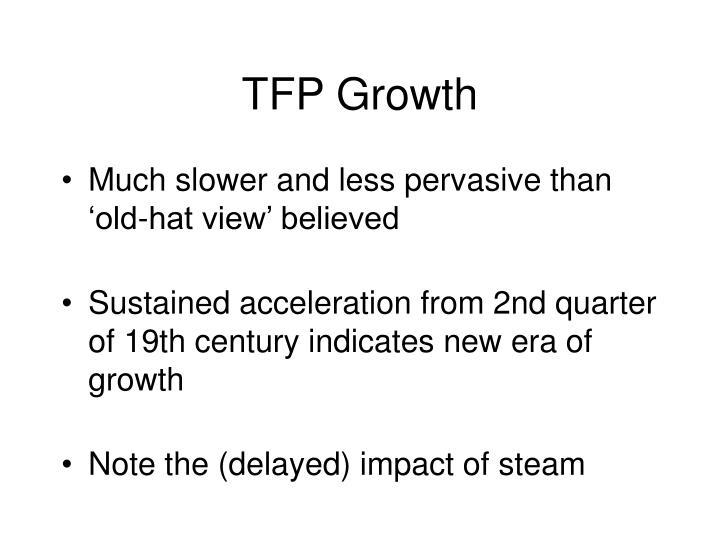 TFP Growth