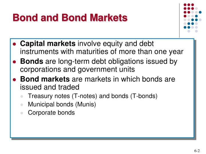 Bond and Bond Markets