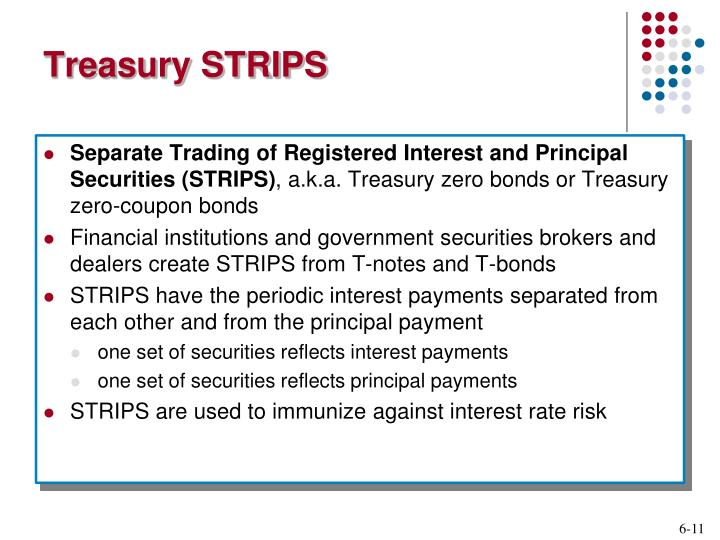 Treasury STRIPS
