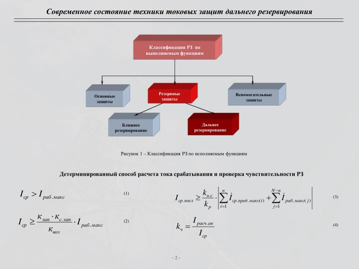Классификация РЗ