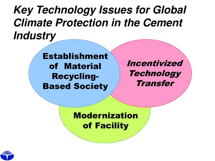 Key Technology Issues for Global Climate Protection in the Cement Industry