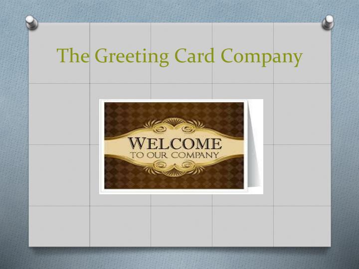 The Greeting Card Company