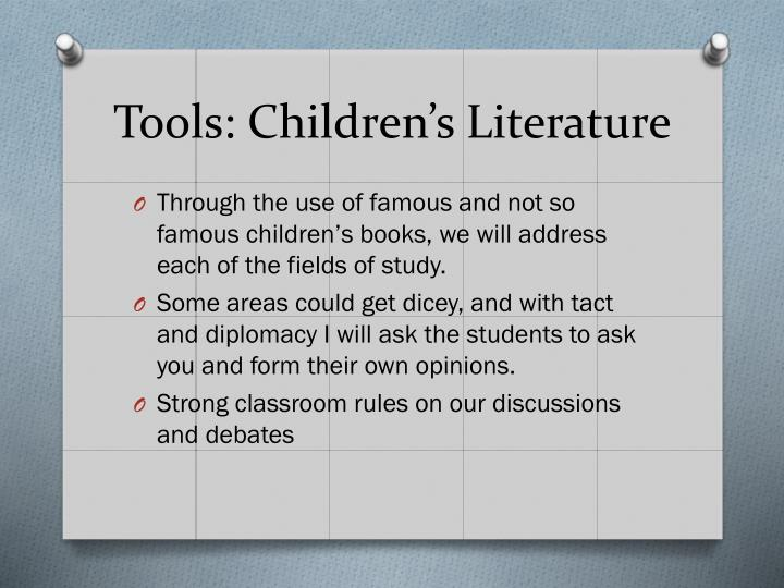Tools: Children's Literature