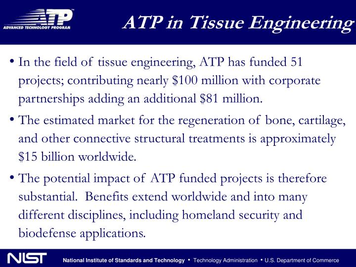 ATP in Tissue Engineering