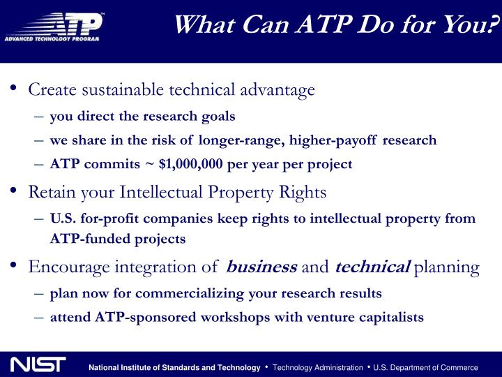 What Can ATP